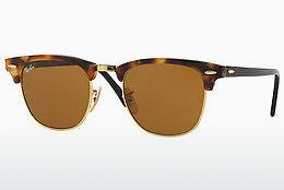 Ophthalmics Ray-Ban CLUBMASTER (RB3016 1160) - Brown, Havanna