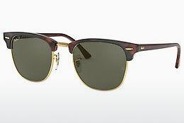 Ophthalmics Ray-Ban CLUBMASTER (RB3016 990/58) - Green, Red