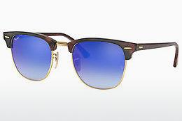Ophthalmics Ray-Ban CLUBMASTER (RB3016 990/7Q) - Brown, Havanna