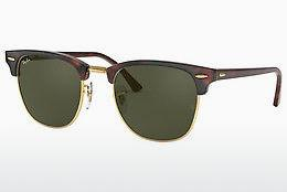 Ophthalmics Ray-Ban CLUBMASTER (RB3016 W0366) - Black, Brown, Havanna