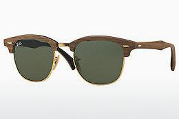 Ophthalmics Ray-Ban CLUBMASTER (M) (RB3016M 1181) - Brown