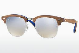 Ophthalmics Ray-Ban CLUBMASTER (M) (RB3016M 12179U) - Silver