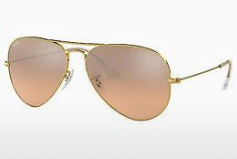 Ophthalmics Ray-Ban AVIATOR LARGE METAL (RB3025 001/3E) - Gold