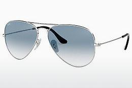 Ophthalmics Ray-Ban AVIATOR LARGE METAL (RB3025 003/3F) - Silver