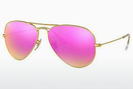 Ophthalmics Ray-Ban AVIATOR LARGE METAL (RB3025 112/4T) - Gold