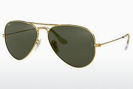 Ophthalmics Ray-Ban AVIATOR LARGE METAL (RB3025 L0205) - Gold