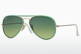 Ophthalmics Ray-Ban AVIATOR FULL COLOR (RB3025JM 001/3M) - Gold