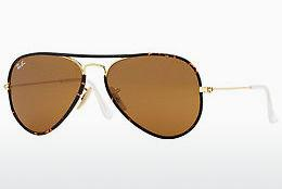 Ophthalmics Ray-Ban AVIATOR FULL COLOR (RB3025JM 001) - Gold