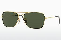 Ophthalmics Ray-Ban CARAVAN (RB3136 181) - Gold
