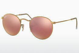 Ophthalmics Ray-Ban ROUND METAL (RB3447 112/Z2) - Gold