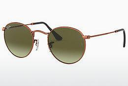 Ophthalmics Ray-Ban ROUND METAL (RB3447 9002A6) - Brown