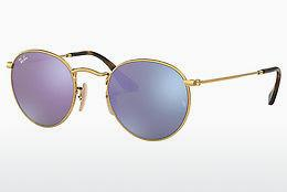 Ophthalmics Ray-Ban ROUND METAL (RB3447N 001/8O) - Gold