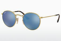 Ophthalmics Ray-Ban ROUND METAL (RB3447N 001/9O) - Gold