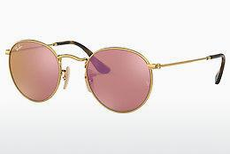 Ophthalmics Ray-Ban ROUND METAL (RB3447N 001/Z2) - Gold
