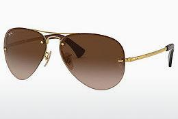 Ophthalmics Ray-Ban RB3449 001/13 - Gold
