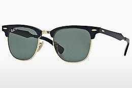 Ophthalmics Ray-Ban CLUBMASTER ALUMINUM (RB3507 136/N5) - Black
