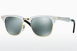Ophthalmics Ray-Ban CLUBMASTER ALUMINUM (RB3507 137/40) - White