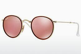 Ophthalmics Ray-Ban ROUND (RB3517 001/Z2) - Gold