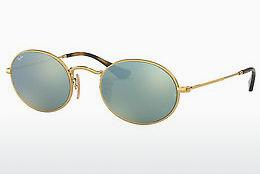 Ophthalmics Ray-Ban Oval (RB3547N 001/30) - Gold