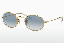 Ophthalmics Ray-Ban OVAL (RB3547N 001/3F) - Gold