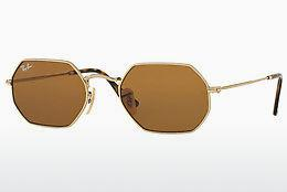 Ophthalmics Ray-Ban Octagonal (RB3556N 001/33) - Gold