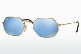 Ophthalmics Ray-Ban Octagonal (RB3556N 001/9O) - Gold