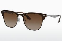 Ophthalmics Ray-Ban BLAZE CLUBMASTER (RB3576N 041/13) - Grey, Brown, Havanna