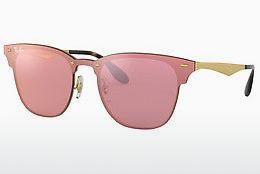 Ophthalmics Ray-Ban Blaze Clubmaster (RB3576N 043/E4) - Pink, Gold