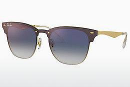 Ophthalmics Ray-Ban BLAZE CLUBMASTER (RB3576N 043/X0) - Gold