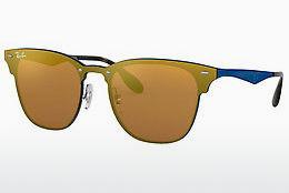 Ophthalmics Ray-Ban Blaze Clubmaster (RB3576N 90377J) - Orange, Blue