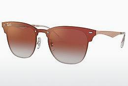 Ophthalmics Ray-Ban BLAZE CLUBMASTER (RB3576N 9039V0) - Pink