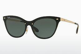 Ophthalmics Ray-Ban Blaze Cat Eye (RB3580N 043/71) - Gold