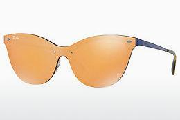 Ophthalmics Ray-Ban Blaze Cat Eye (RB3580N 90377J) - Orange, Blue