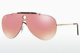 Ophthalmics Ray-Ban Blaze Shooter (RB3581N 001/E4) - Gold