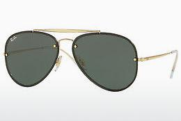 Ophthalmics Ray-Ban BLAZE AVIATOR (RB3584N 905071) - Gold