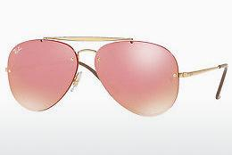 Ophthalmics Ray-Ban BLAZE AVIATOR (RB3584N 9052E4) - Gold