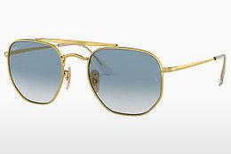 Ophthalmics Ray-Ban THE MARSHAL (RB3648 001/3F) - Gold