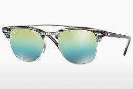 Ophthalmics Ray-Ban CLUBMASTER DOUBLEBRIDGE (RB3816 1239I2) - Silver