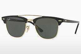Ophthalmics Ray-Ban CLUBMASTER DOUBLEBRIDGE (RB3816 901) - Black