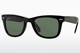 Ophthalmics Ray-Ban FOLDING WAYFARER (RB4105 601/58) - Black