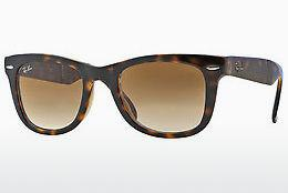 Ophthalmics Ray-Ban FOLDING WAYFARER (RB4105 710/51) - Brown, Havanna