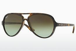 Ophthalmics Ray-Ban CATS 5000 (RB4125 710/A6) - Brown, Havanna