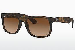 Ophthalmics Ray-Ban JUSTIN (RB4165 710/13) - Brown, Havanna