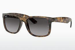 Ophthalmics Ray-Ban JUSTIN (RB4165 710/8G) - Brown, Havanna