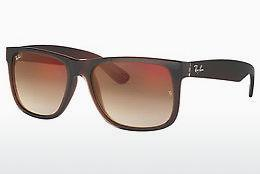 Ophthalmics Ray-Ban JUSTIN (RB4165 714/S0) - Brown