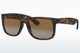 Ophthalmics Ray-Ban JUSTIN (RB4165 865/T5) - Brown, Havanna