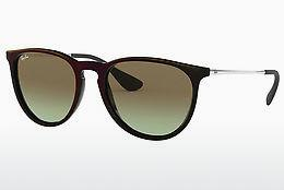 Ophthalmics Ray-Ban ERIKA (RB4171 6316E8) - Black, Red