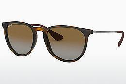 Ophthalmics Ray-Ban ERIKA (RB4171 710/T5) - Brown, Havanna