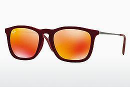 Ophthalmics Ray-Ban CHRIS (RB4187 60786Q) - Red
