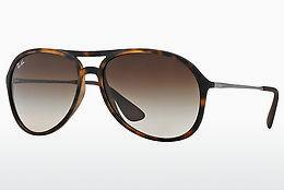 Ophthalmics Ray-Ban ALEX (RB4201 865/13) - Brown, Havanna